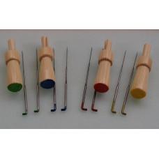 Needle Felt Needles And Holders - Colour Coded Mixed Gauge